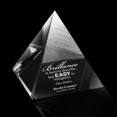 Paperweights - Pyramid Crystal Award