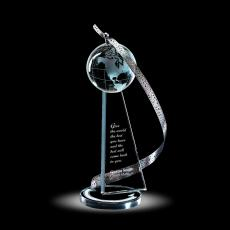 Top Of The World Crystal Award