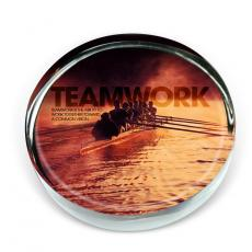 Teamwork Rowers Positive Outlook Paperweight