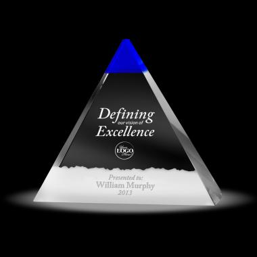 Ambassador Pyramid Crystal Award