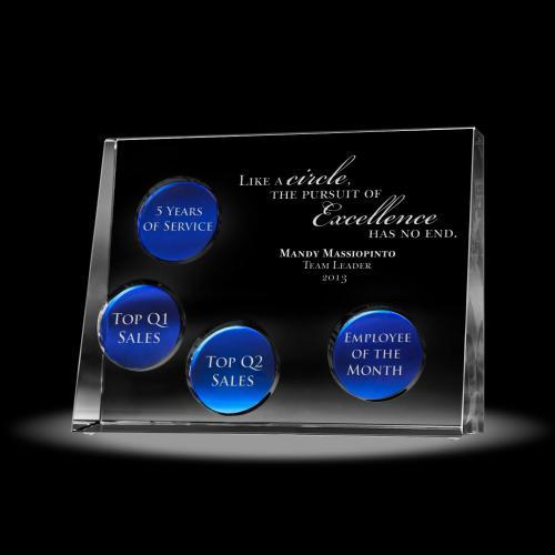 Cobalt Disc Perpetual Award