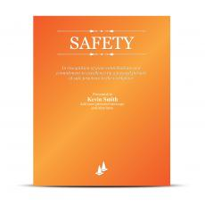Vivid Color Plaques - Safety Vivid Award Plaque