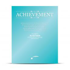 Vivid Color Plaques - Achievement Vivid Award Plaque