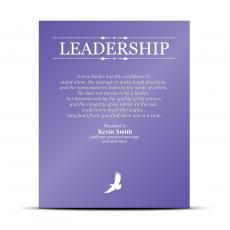 Leadership Vivid Award Plaque