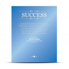 Vivid Color Plaques - Success Vivid Award Plaque