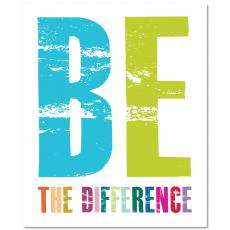 Teacher Gifts - Be The Difference Inspirational Art