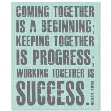 All Motivational Posters - Working Together Inspirational Art