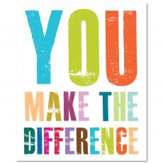 Closeout and Sale Center - You Make A Difference Inspirational Art