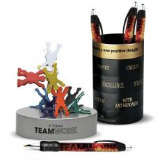 Pens & Pen Cups - Teamwork Gift Set