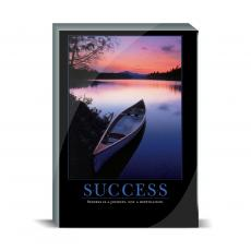 Motivational Posters - Success Canoe Desktop Print