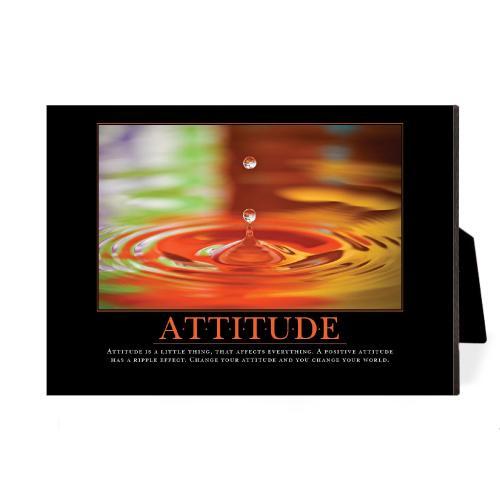 Attitude Drop Desktop Print