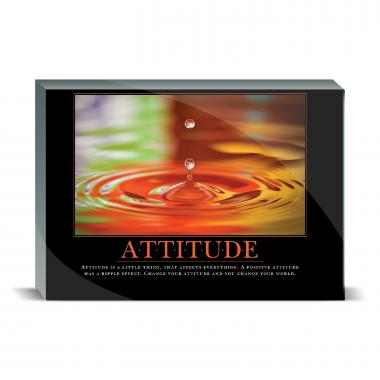 Attitude Drop Desktop Print