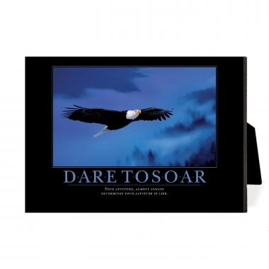 Dare to Soar Eagle Desktop Print