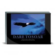 Motivational Posters - Dare to Soar Eagle Desktop Print