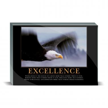 Excellence Eagle Desktop Print