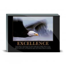 Motivational Posters - Excellence Eagle Desktop Print