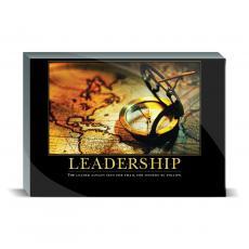 Motivational Posters - Leadership Compass Desktop Print