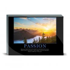 Motivational Posters - Passion Sunrise Desktop Print