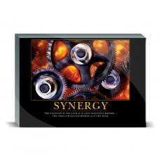 Motivational Posters - Synergy Gear Desktop Print