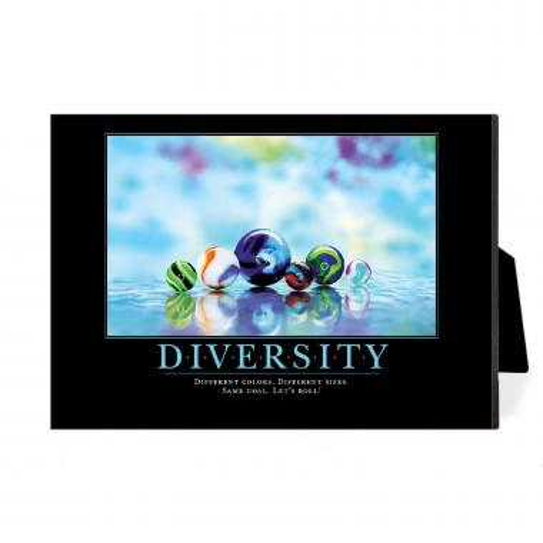 Diversity Marbles Desktop Print