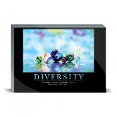 Motivational Posters - Diversity Marbles Desktop Print