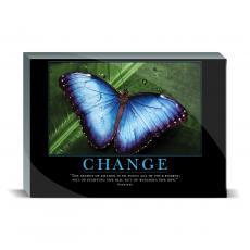 Motivational Posters - Change Butterfly Desktop Print