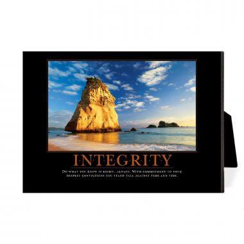 Integrity Cathedral Rock Desktop Print