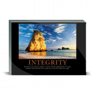 Integrity Cathedral Rock Desktop Print