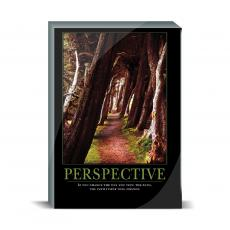 Motivational Posters - Perspective Wooded Path Desktop Print