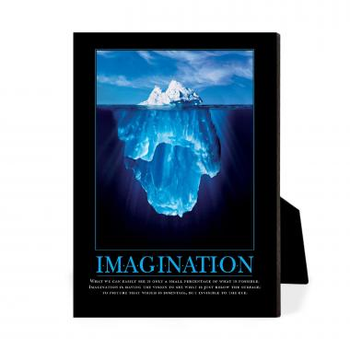 Imagination Iceberg Desktop Print