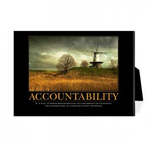 Accountability Windmill Desktop Print