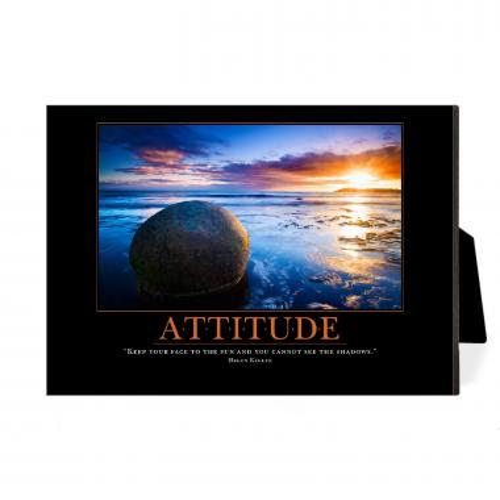 Attitude Boulder Desktop Print