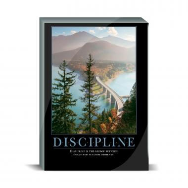 Discipline Bridge Desktop Print
