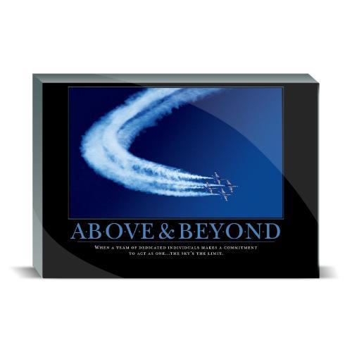 Above & Beyond Jets Desktop Print