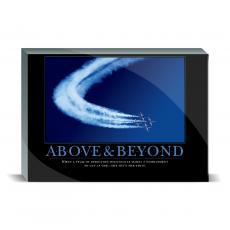 Motivational Posters - Above & Beyond Jets Desktop Print
