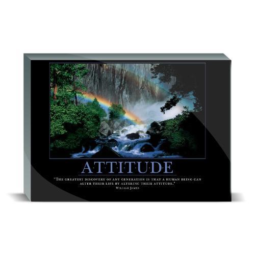 Attitude Rainbow Desktop Print