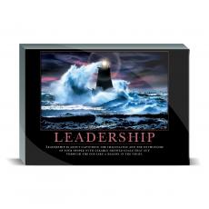 Motivational Posters - Leadership Lighthouse Desktop Print