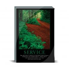 Motivational Posters - Service Path Desktop Print