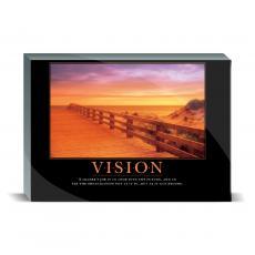 Motivational Posters - Vision Boardwalk Desktop Print