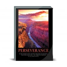 Motivational Posters - Perseverance Canyon Desktop Print
