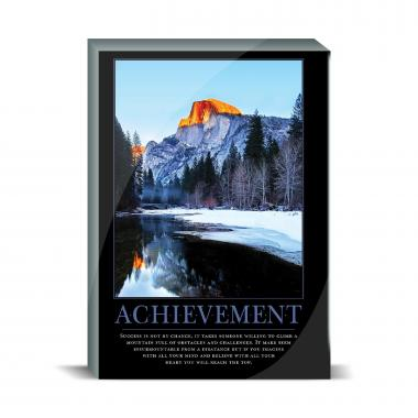 Achievement Mountain Desktop Print