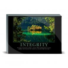 Motivational Posters - Integrity Island Desktop Print