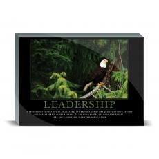 Motivational Posters - Leadership Eagle Tree Desktop Print