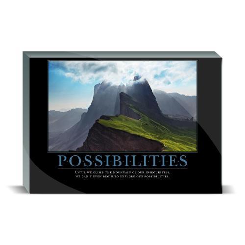 Possibilities Mountain Desktop Print