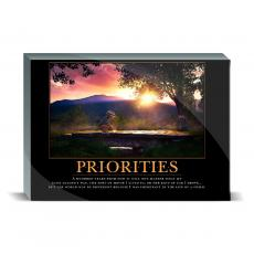 Motivational Posters - Priorities Bridge Desktop Print