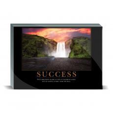 Motivational Posters - Success Waterfall Desktop Print