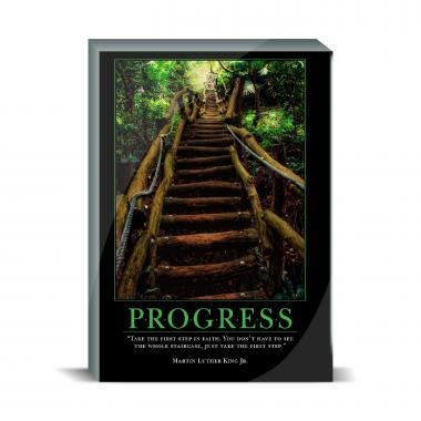 Progress Staircase Desktop Print