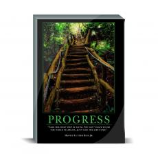 Motivational Posters - Progress Staircase Desktop Print