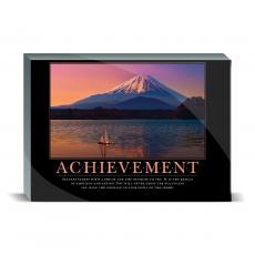 Motivational Posters - Achievement Sailboat Desktop Print