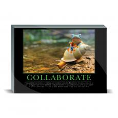 Motivational Posters - Collaboration Rainforest Desktop Print